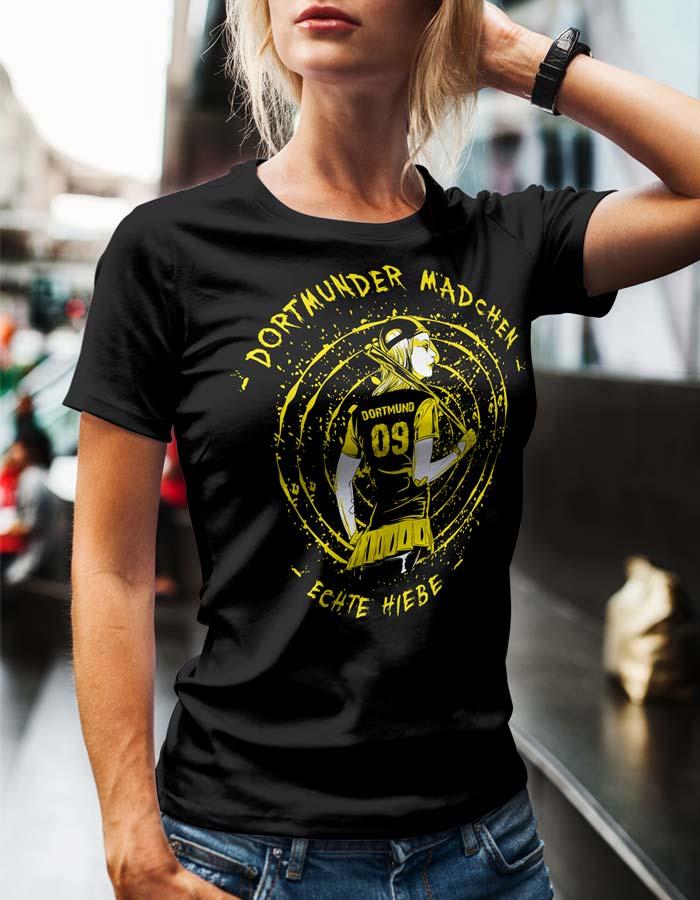 Dortmunder-Mädchen T-Shirt