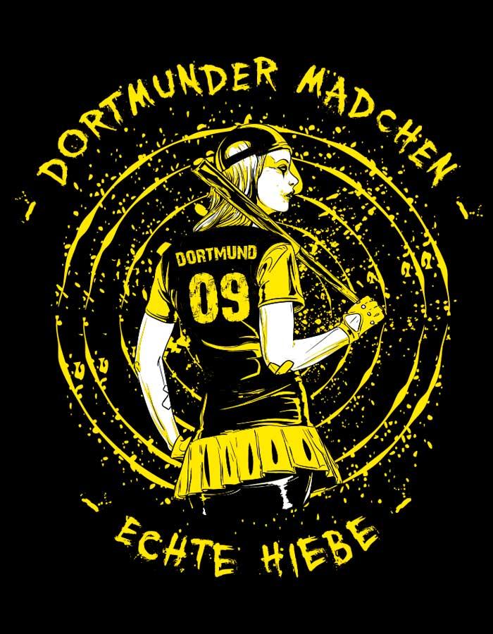 Dortmund Mädchen T-Shirt