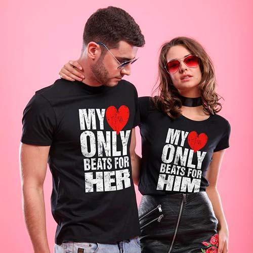 Pärchen T Shirts