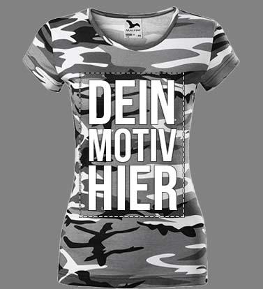 T Shirt Grau Cam Produktbild