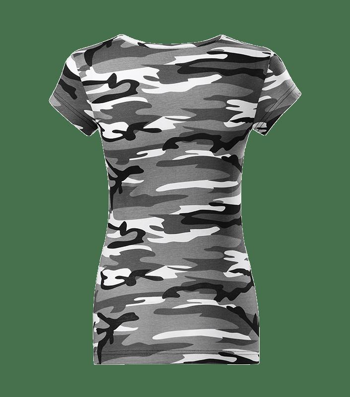 T Shirt Grau Hinten min