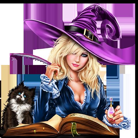 Zauberin Katze