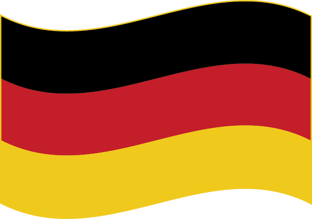 Deutsche Flagge Welle