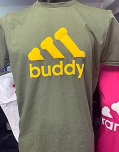 T-Shirt Druck Adidog